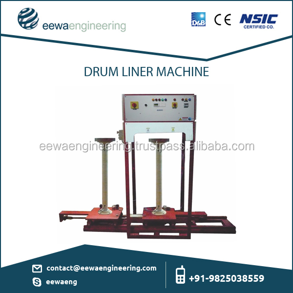 Superior Grade Drum Liner Making Machine/Round Bag Sealer Machine