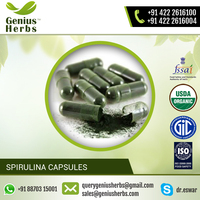 High Protein and Nutrients Made Spirulina Capsules for Healthy Heart and Glowing Skin