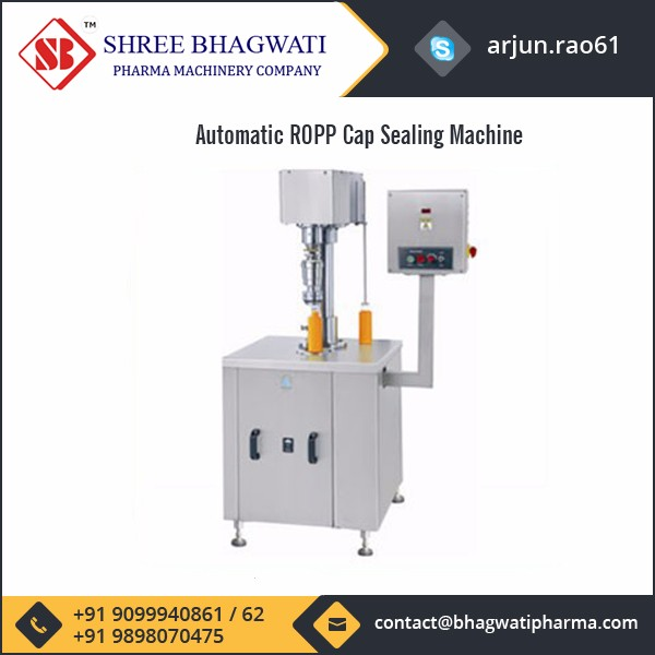 Good Quality Automatic ROPP Cap Sealing Machine for Threading & Sealing