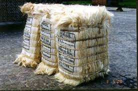 100kgs/bale UG Sisal Fiber for Building