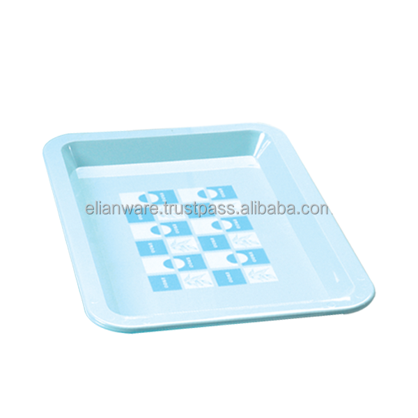 Plastic Food Serving Light Tray E-148/M