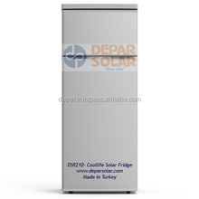 210L Solar Refrigerator 12/24VDC for Village, Camp, Caravan, Africa, Rural Electrification System
