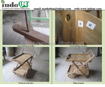 wooden furniture inspection services / Quality control / pre-shipment inspection in indonesia / Inspection services