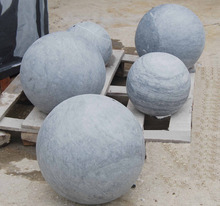 Viet Nam residential section decorative balls natural stone