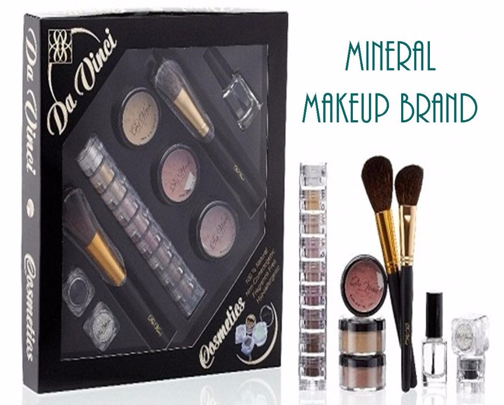 Wholesale 100% Mineral Makeup - Da VInci Cosmetics