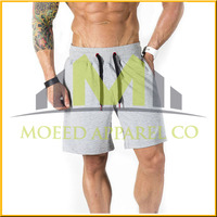 Wholesale Fitness Shorts Men's plain white quick dry Gym wear Shorts Bodybuilding Fit Shorts