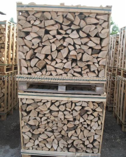 Firewood Birch, Oak, Ash, Hornbeam in wooden boxes 1m3 - 2m3