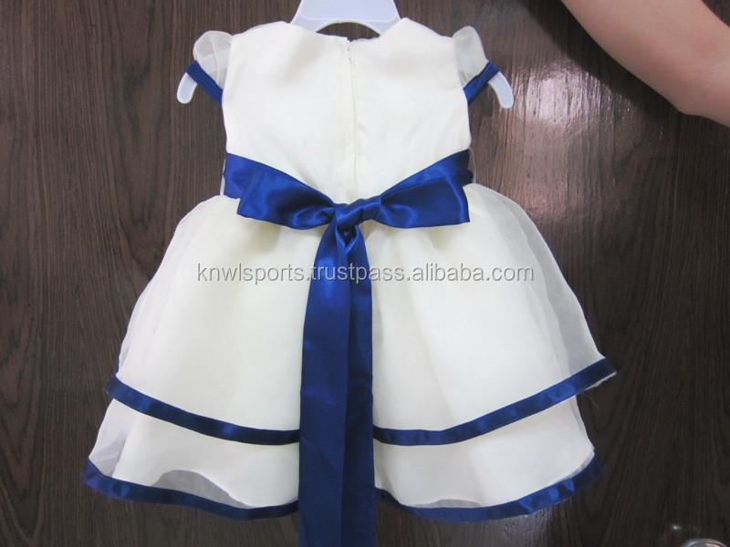 Latest Design Baby Frock Korean Dress Clothing