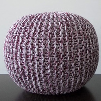 High Quality Best Selling Knitted Pouf from Industry's Best Supplier,knitted ottoman stool
