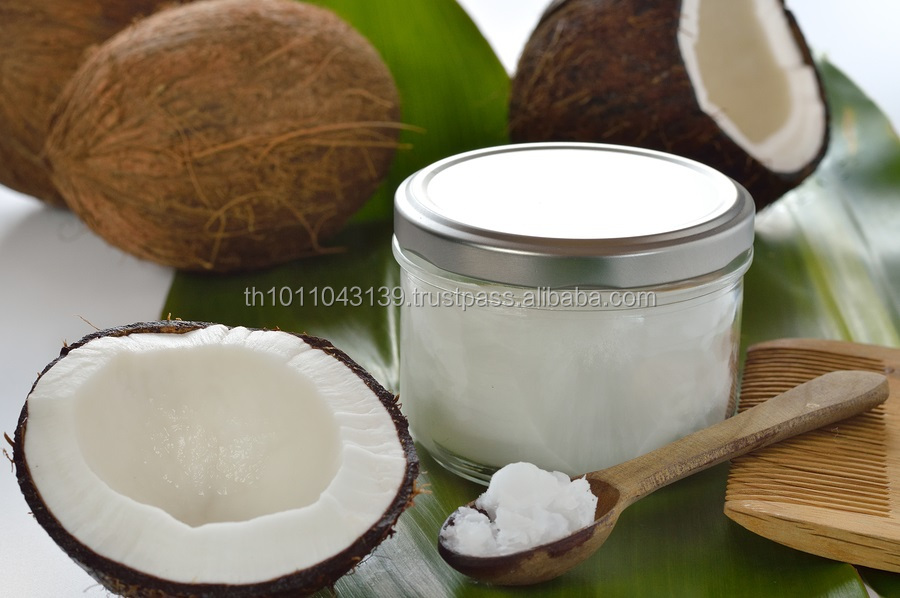 Pure cold pressed Extra virgin coconut oil thailand