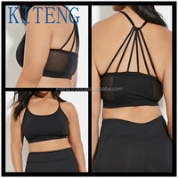 Kiteng 2016 high quality Plus Size Medium Impact - Webbed-Back Sports Bra Office In United States