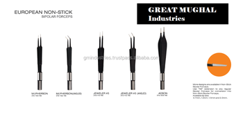 European NonStick Bipolar Forceps Electrosurgery Forceps Bipolar Surgical Tools, Other Bipolar Forceps and Electrodes by GMI