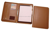 Leather Conference Folders / Personalized Leather Padfolio