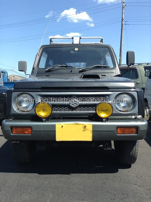 JAPANESE USED CARS FROM JAPAN SUZUKI JIMNY V-JA11V 1993 AT IN GOOD CONDITION