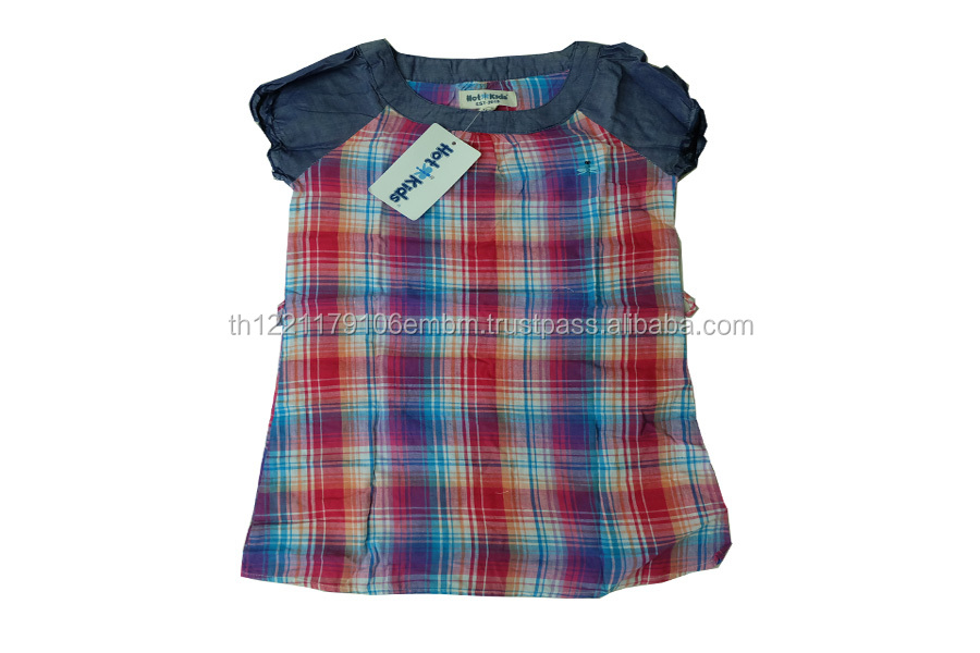 baby girl party dresses for kids High quality 100% cotton
