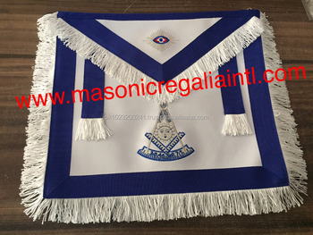 PAST MASTER SILVER APRONS | MASONIC APRONS