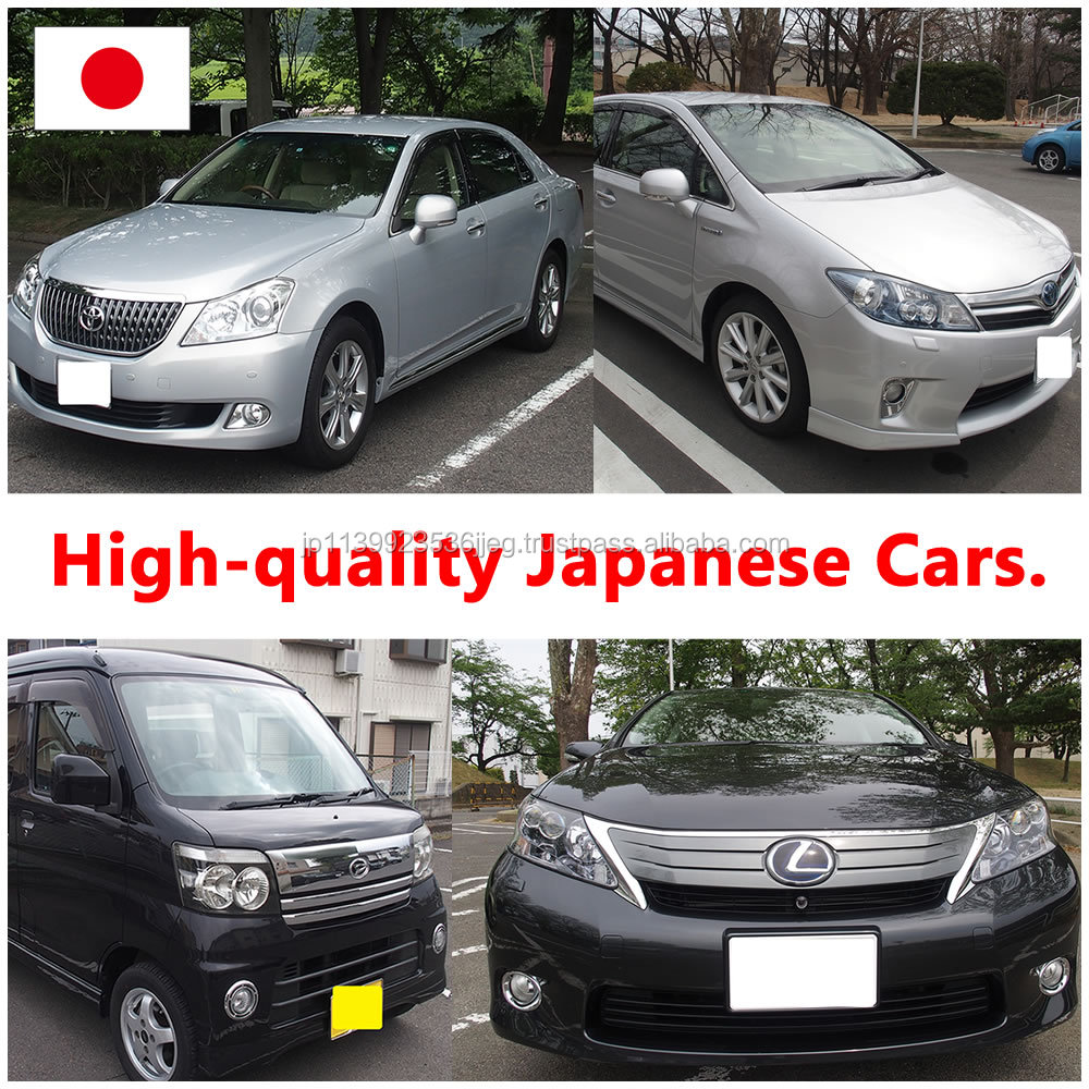 High-security and Durable toyota spare parts used cars with good state made in Japan
