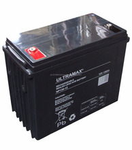 ULTRAMAX NP130-12, 12V 130AH 20HR LEISURE CARAVAN MARINE BOAT BATTERY