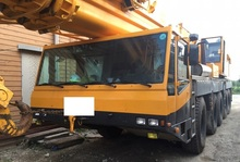 [ Winwin Used Machinery ] Used All terrain Crane 120 ton EMAG AC395 1996yr For sale