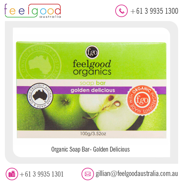 Green Apple/ Golden Delicious Luxury Soap at Reliable Price