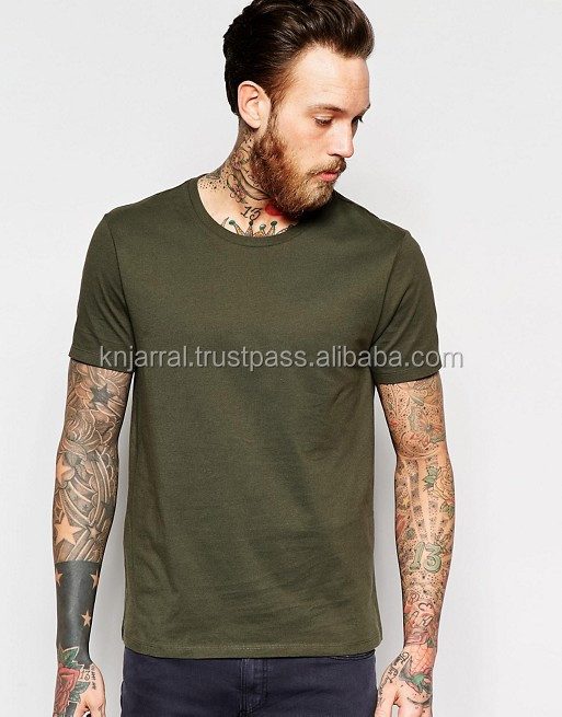 high qaulity open neck stylish mens t shirt
