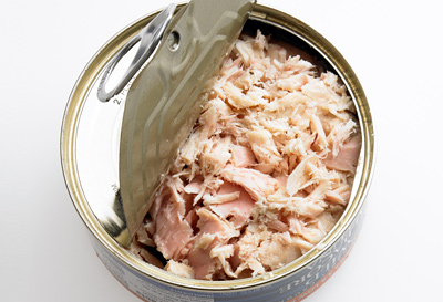 Canned tuna in Vegetable oil, BRine. salt syrup and others