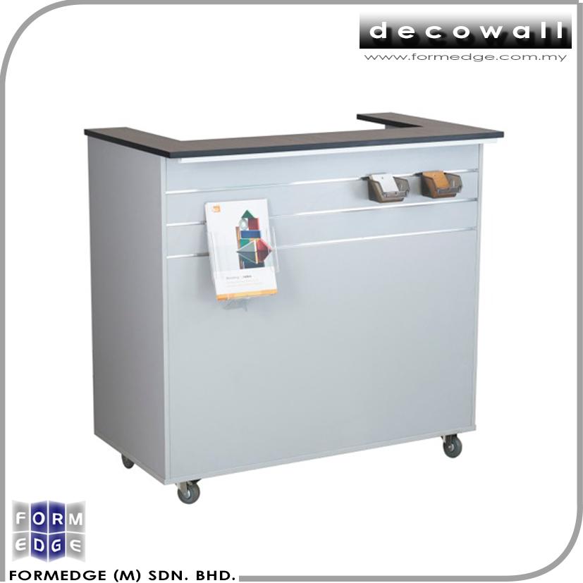 Quality Affordable Slatwall Cashier Counter