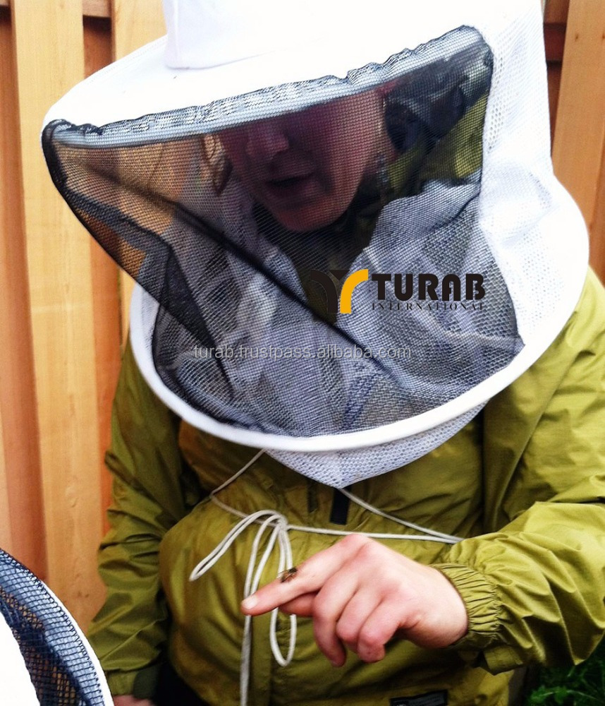 Double-deck beekeeper veil and hat factory price