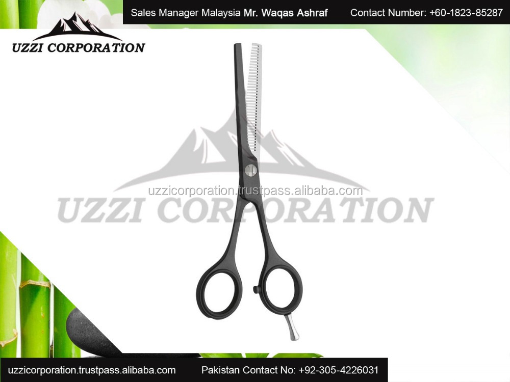 Stainless Steel Professional Hair scissors with Different Color Handle
