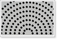 SS STAGGERED PERFORATED SHEET