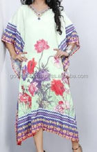 Best Uniqe Caftan Kaftan Marrakech Style White with handmade Embroidery/Great for beach cover ups/Resort wear/loungewear, kaftan