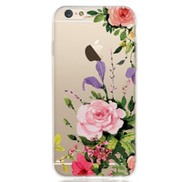 Printed Flora Patterned Design Soft cover TPU case