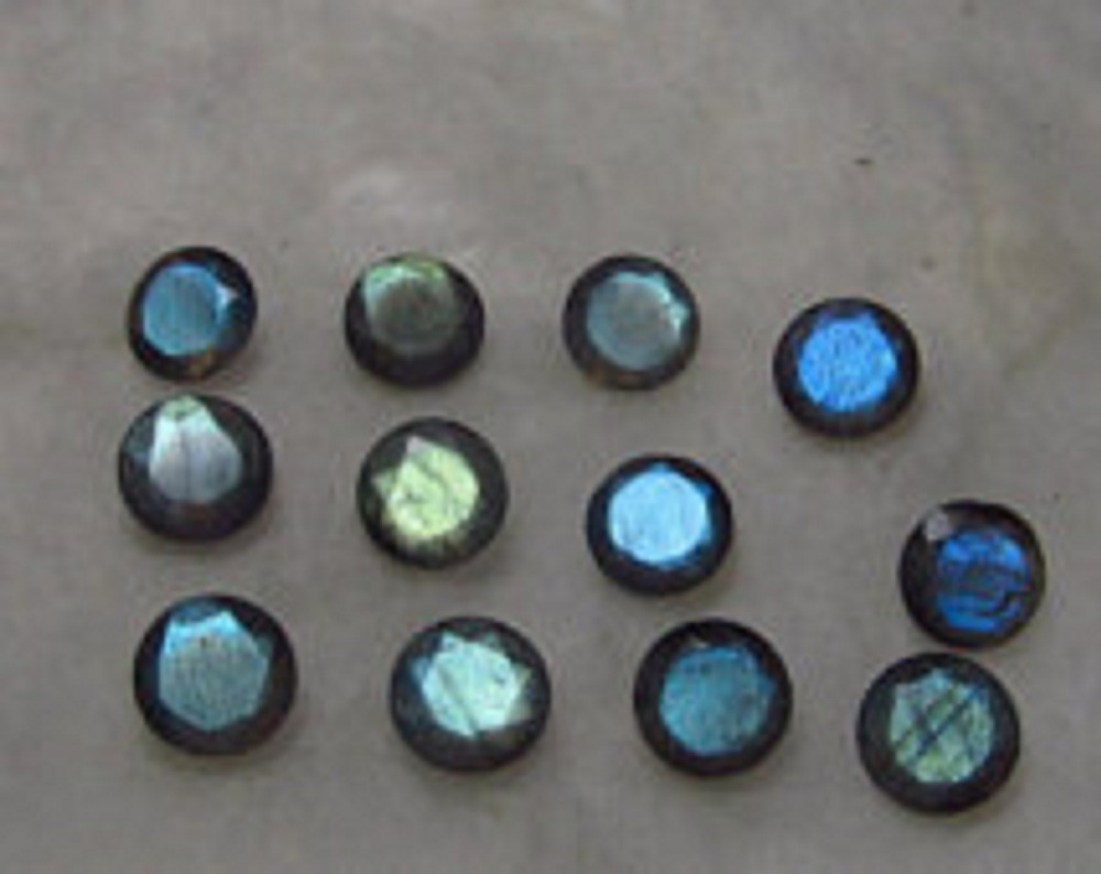 Labradorite Cabochon Round Shape 12mm Top Quality Natural Loose Gemstone Calibrated Cabochons
