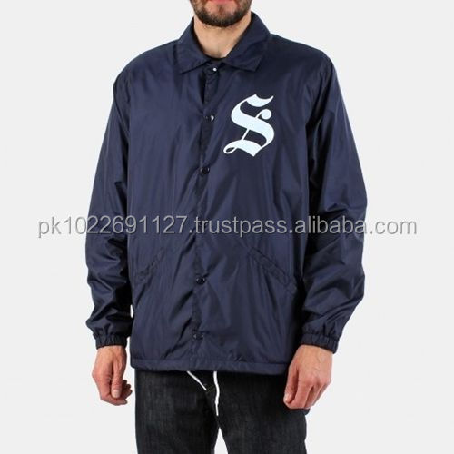 nylon coach jackets, Custom Wind breakers Jacket,coaches jackets