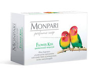 "Perfume toilet bar soap ""Monpari"", 100g"