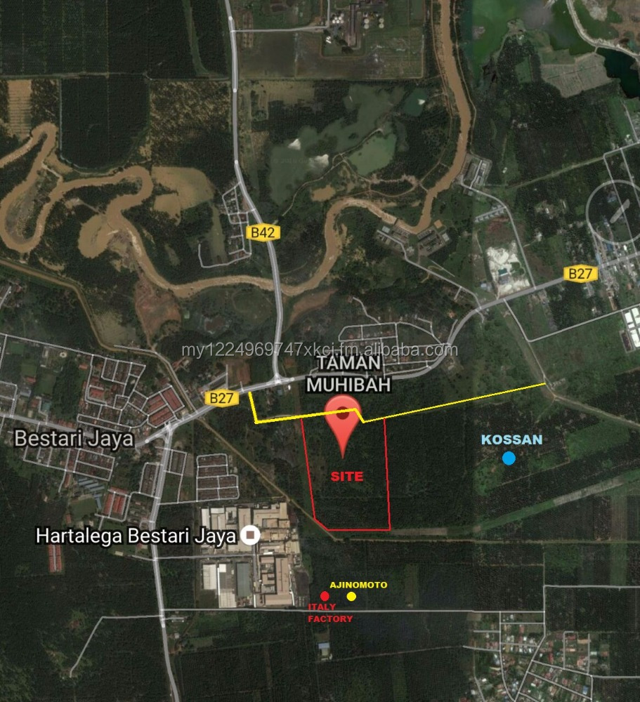 Malaysia 50 acres industrial land