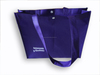 Non-woven Shopper Bag With Button Closure
