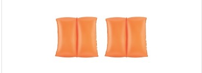 ARM BANDS INFLATABLE YELLOW AND ORANGE