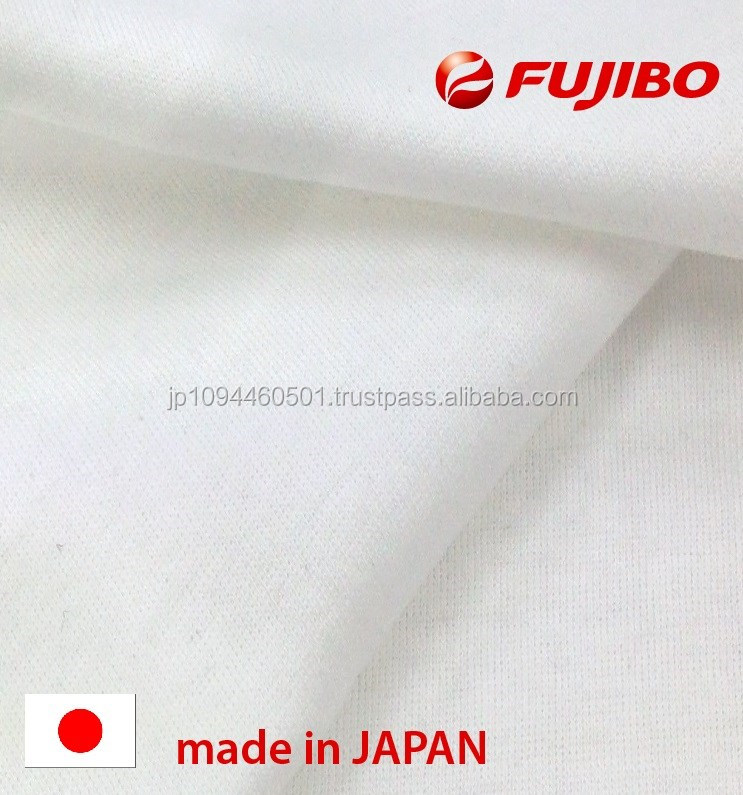 High quality 100% cotton knit textiles from textile manufacturer in Japan