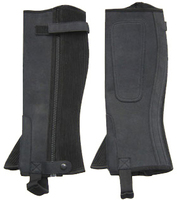 Horse ridding mini half chaps Leather half chaps/ Gaiters