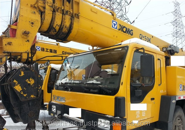 China used XCMG truck crane 50t QY50K for sale