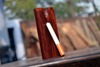 Wooden dugout , Rose wood dugout Natural finish , Smoking
