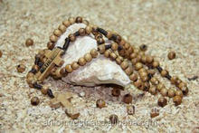 High Quality Long Rosary of Ancient Olive Wood