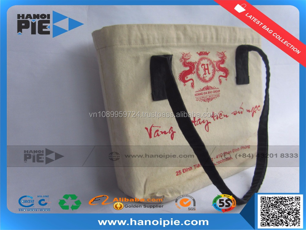Customized Cotton Canvas Tote Bag /Cotton Bags Promotion / Organic Cotton Tote Bags Wholesale