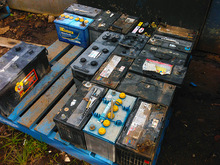 From Factory Car Battery Scrap