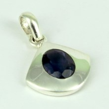 Amazing Lights Iolite 925 Sterling Silver Pendant, Silver Jewelry, Handmade Silver Jewelry