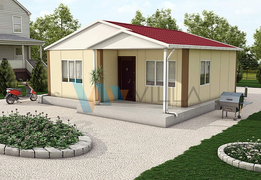 Single-storey Prefabricated House VP516