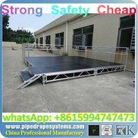 BEST high quality height adjustable stage,hotel amenity