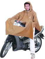 Poncho raincoat 0.23 with glass - Overlay helmet