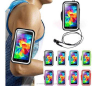 "WaterProof Outdoor Gym Running Armband Soft Pouch Case Cover For iphone 4 4s 5 5s 6 4.7"" 6 plus 5.5"" Samsung Galaxy note 3 S5 S4"